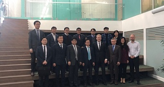 Visit of the delegation from Korea to Kaliningrad